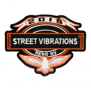 2015 Street Vibrations Reno Eagle & Banner Patch