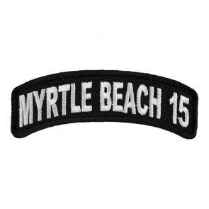 2015 Myrtle Beach White Rocker Annual Event Patch