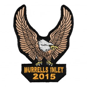 2015 Murrells Inlet Brown Eagle Upwing Sew On Event Patch