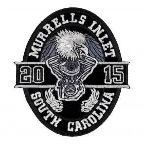 2015 Myrtle Beach Bike Week Event Patches, Biker Pins