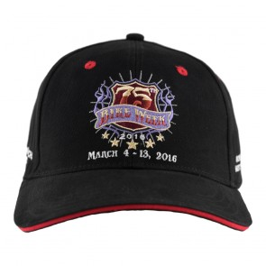 2016 Daytona Beach Bike Week 75th Official Logo Embroidered Adjustable Cap