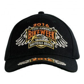 2016 Daytona Beach Bike Week 75th Eagle Shield Event Cap