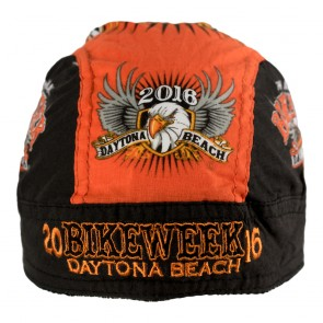 2016 Daytona Beach Bike Week Shield & Eagle Bandana