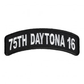 2016 Daytona 75th White Rocker Bike Week Event Patch