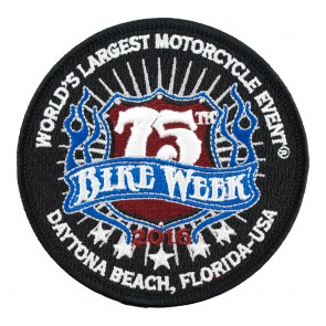 75th Daytona Beach Bike Week 2016 Official Event Patch