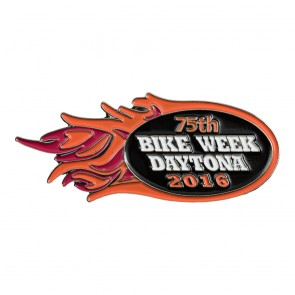 2016 Daytona Bike Week 75th Orange Flames Event Pi