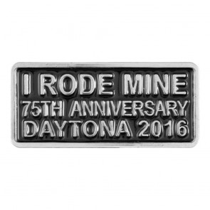2016 Daytona Bike Week 75th Anniversary I Rode Mine Event Pin