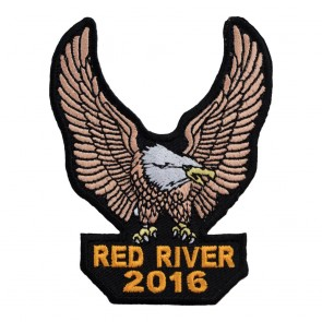 34th Annual 2016 Red River Brown Eagle Upwing Event Patch