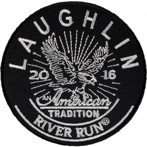 2016 Embroidered Laughlin River Run American Tradition Eagle Event Patch