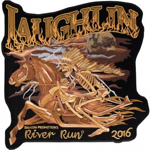 Iron On 2016 Laughlin River Run Native American Horse Event Patch