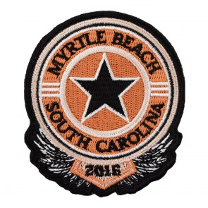 Myrtle Beach South Carolina 2016 Sheriff Star Event Patch
