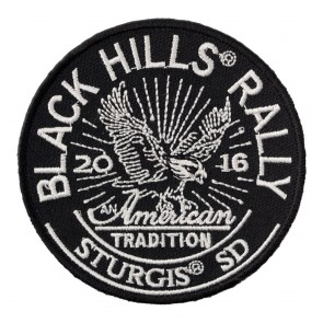 2016 Sturgis 76th Anniversary Black Hills Rally American Tradition Eagle Event Patch
