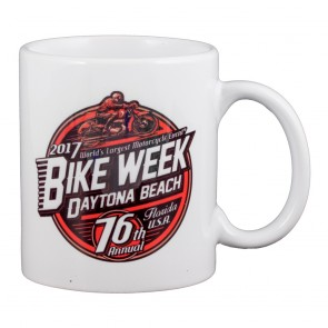 2017 Daytona Beach Bike Week Official Souvenir Coffee Mug