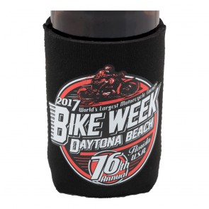2017 Daytona Beach Bike Week Official Soda Can Koozie