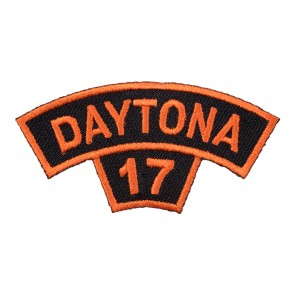 2017 Daytona Bike Week Tab Orange Rocker Event Patch