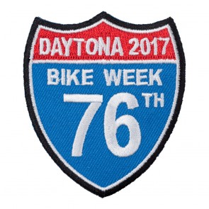 2017 Daytona Bike Week 76th Road Sign Event Patch