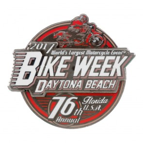 2017 Daytona Beach Bike Week Official Event Pin