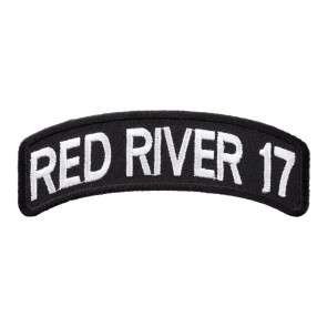 2017 Red River White Rocker Event Patch