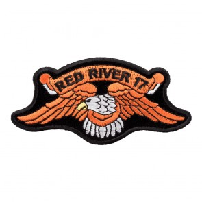 2017 Red River Orange Eagle Event Patch