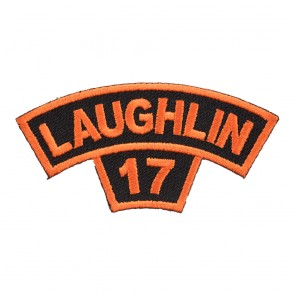 2017 Laughlin Orange Tab Rocker Event Patch