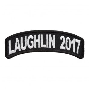 2017 Laughlin White Rocker Event Patch