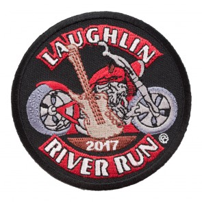 2017 Laughlin River Run Guitar & Motorcycle Event Patch