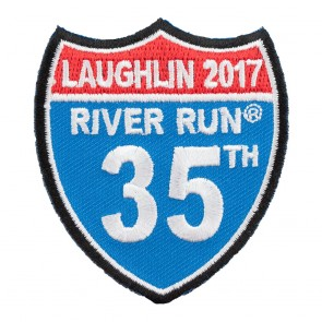 2017 Laughlin River Run Road Sign Event Patch