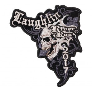 2017 Laughlin River Run Marble Skull Event Patch