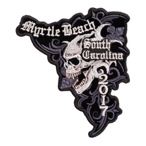 2017 Myrtle Beach Marble Skull Event Patch