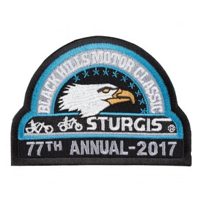 2017 Sturgis 77th Black Hills Motor Classic Eagle Official Logo Patch