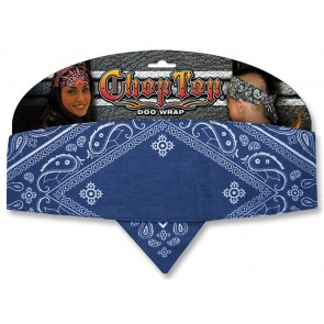 Blue Diamond Paisley Good Time Chop Top Bandana