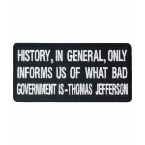 History Informs Us of Bad Government Patch, Political Patches