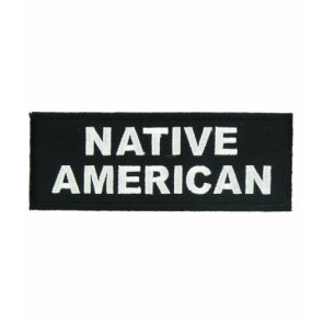 Native American Patch, American Indian Patches