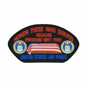 Honor Those U.S. Air Force Hat Patch, Military Cap Patches