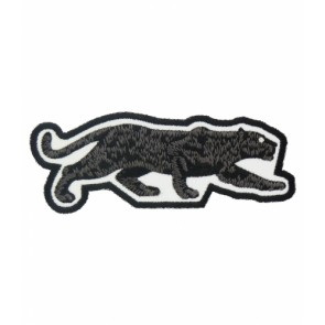 Prowling Black Panther Patch, Animal Patches