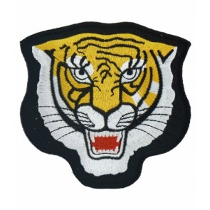 Tiger Head Patch, Tiger & Animal Patches