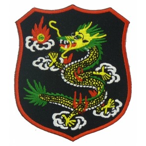 Chinese Dragon Shield Patch, Chinese Dragon Patches