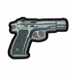 Handgun Grey Patch, Guns & Weaponry Patches