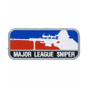 Major League Sniper Patch, Military Sniper Patches