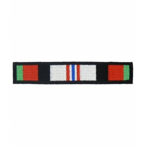 Enduring Freedom Service Ribbon Patch, Military OEF Patches