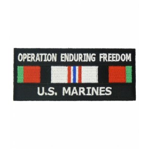 Enduring Freedom U.S. Marines Service Ribbon Patches