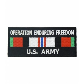 Enduring Freedom U.S. Army Service Ribbon Patches