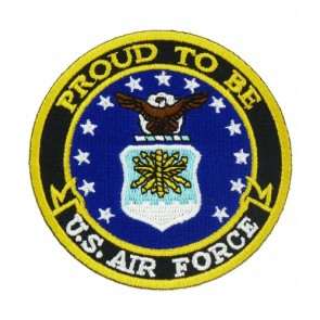 Proud To Be U.S. Air Force, Military Patches
