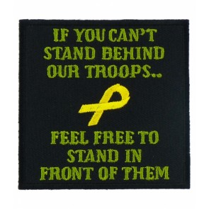 Stand Behind Our Troops Patch, Support Our Troops Patches