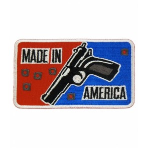 Made In America Gun Patch, Gun Patches