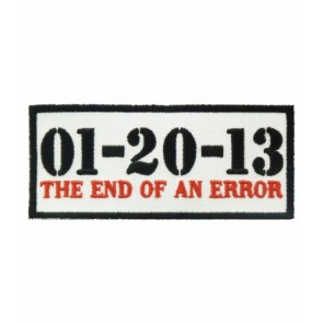 End of An Error 01-20-13 Patch, Political Patches