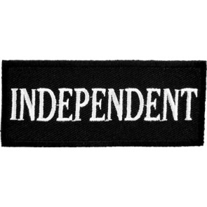 Independent Black & White Patch, Biker Patches
