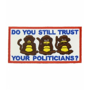 Do You Trust Your Politicians Patch, Political Patches