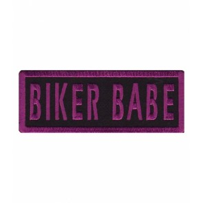 Biker Babe Purple Patch, Women's Biker Patches