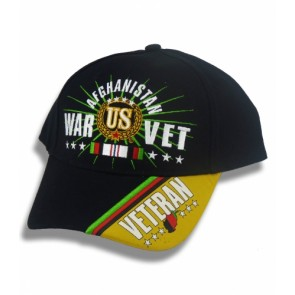 Afghanistan War Vet, Military Ball Cap